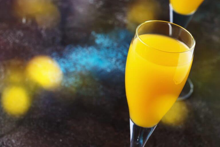 Mimosa alcohol cocktail